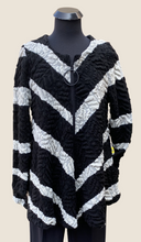 Load image into Gallery viewer, AINO/RALSTON TAVIA Black and White Tunic
