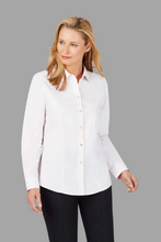 Load image into Gallery viewer, FOXCROFT DIANNA Non-Iron Pinpoint Shirt with Darts