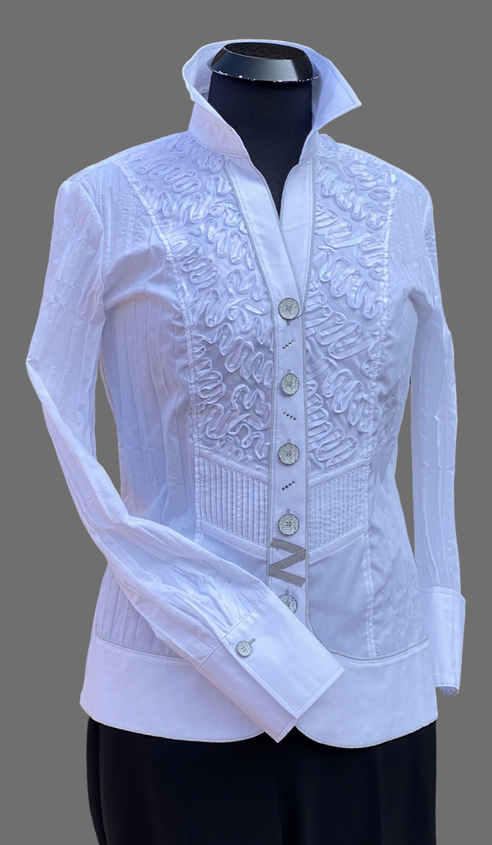 SE -  JUST WHITE Crash Blouse White II