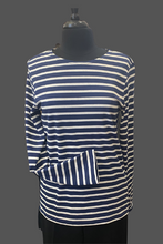 Load image into Gallery viewer, SAINT JAMES MINQUIERS MODERNE Authentic Breton Stripe T-shirt