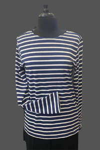 SAINT JAMES MINQUIERS MODERNE Authentic Breton Stripe T-shirt