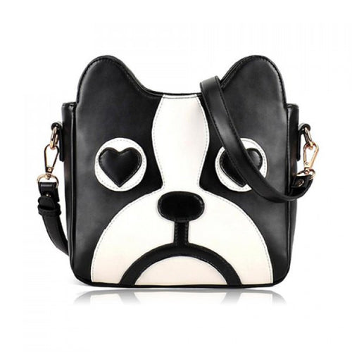 Boston Terrier Puppy Love Shoulder Bag