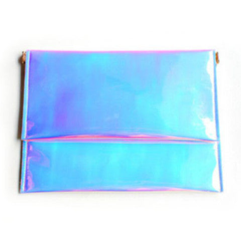 Opal Hologram Clutch - Feelin Peachy