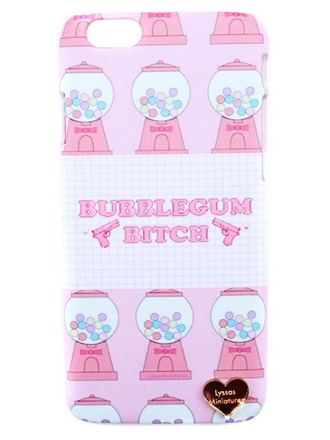 Bubblegum B Printed Phone Case - Feelin Peachy