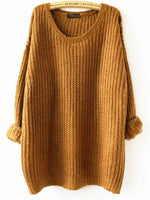 Megan Oversized Knit Sweater - Feelin Peachy