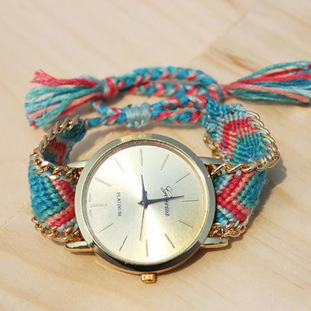 Maci Friendship Bracelet Watch