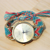 Freya Friendship Bracelet Watch - Feelin Peachy