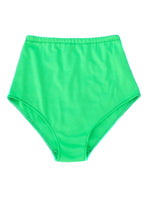 Neon Green Knit High Waist Shorts - Feelin Peachy
