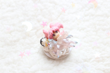Add on Rilakkuma Flower Tea Cup FOR DECO CASE- Lyssa's Miniatures