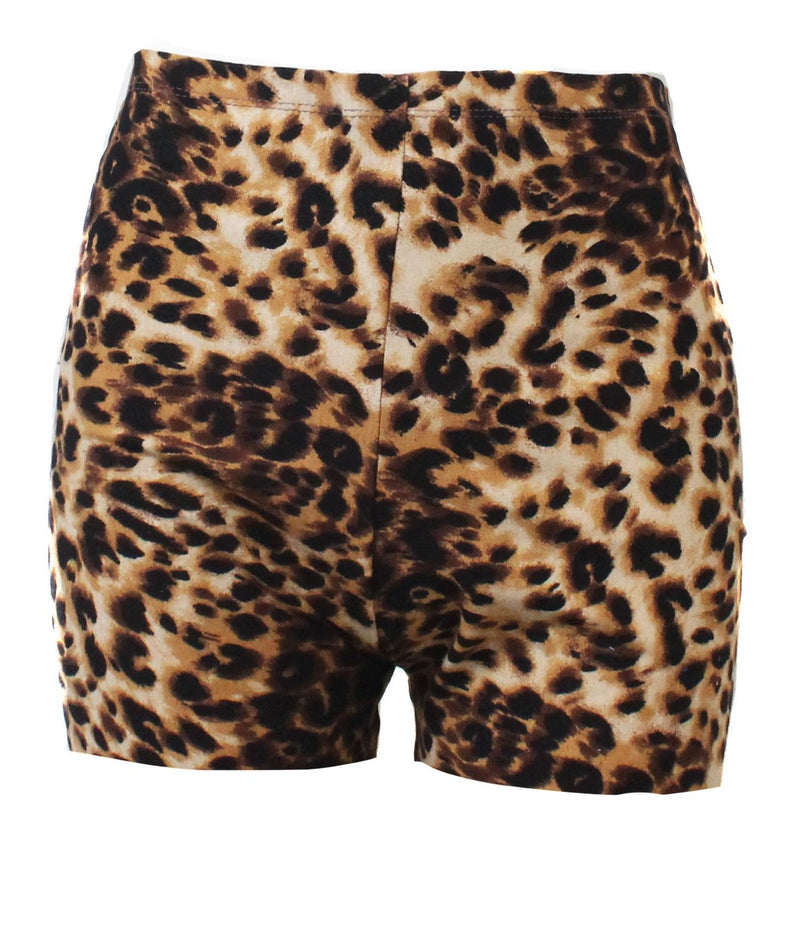 Wild Thing Cheetah High Waist Cycling Shorts
