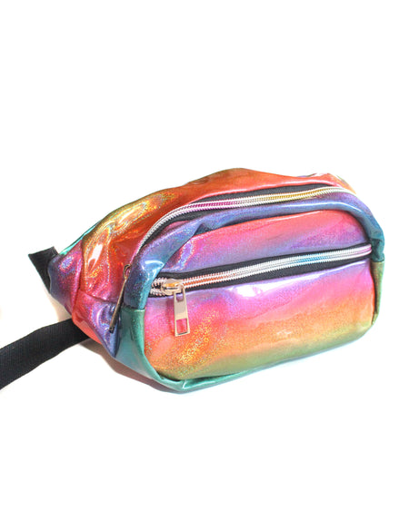 Opal Hologram Clutch