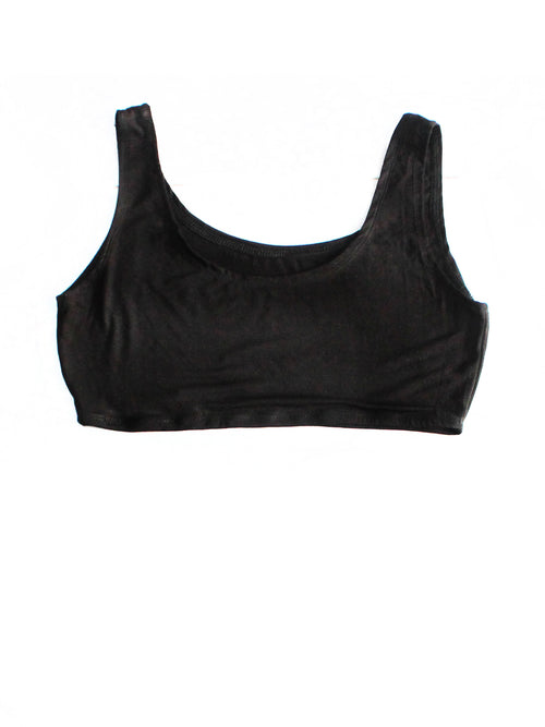 Basic Black Tank Bra