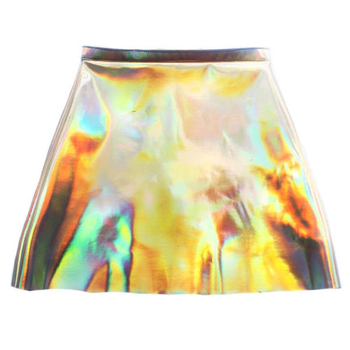 Hologram Pencil Skirt - Feelin Peachy