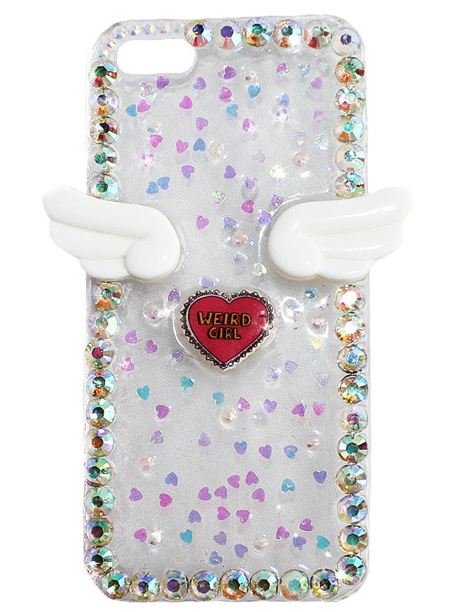 Weird Girl Winged Phone Case