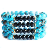 Skyler Crystal Beaded Bracelet
