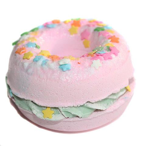Jamaican Vanilla Cafe Donut Bath Bomb- New York's Bathhouse - Feelin Peachy