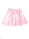 Latex Bubblegum Pink High Waisted Circle Skirt - Feelin Peachy