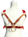 Zeal Holographic Bra Harness - Red