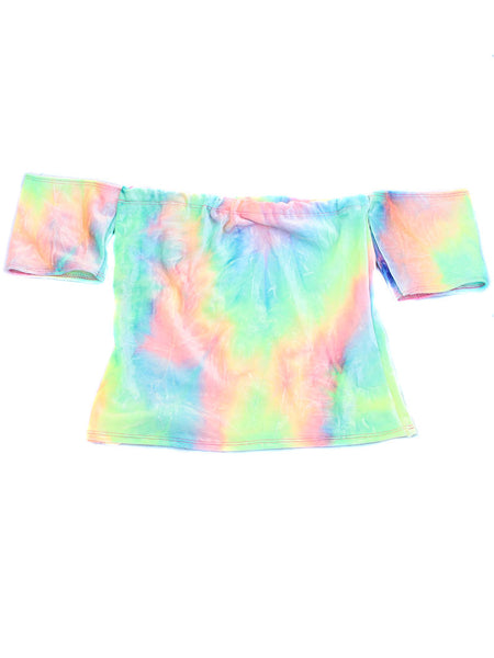 Pastel Silver Hologram Holographic Cropped Tank Top
