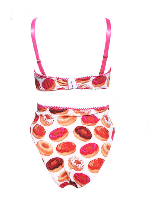 Donut Printed High Waist Panty - Feelin Peachy
