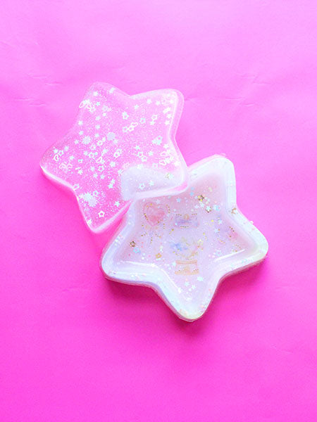 Kawaii White Star Jewelry Organizers