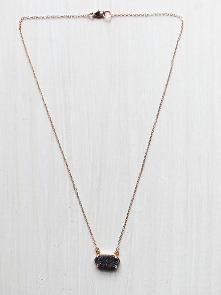 Chunky Gold Chain Choker Necklace
