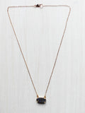 Dainty Prong Druzy Choker Necklace- 14k Gold Filled - Feelin Peachy