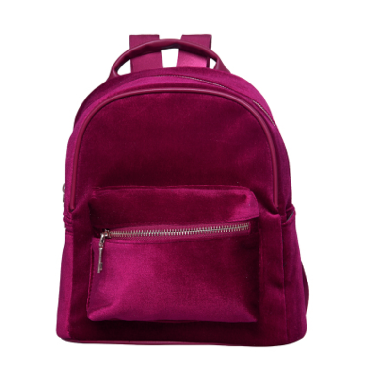 Ece Velvet  Backpack - Feelin Peachy