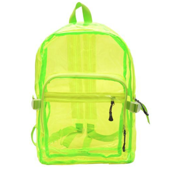 Macie Transparent Backpack