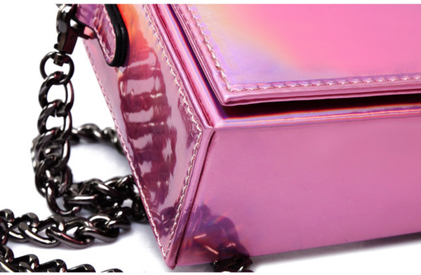 Lora Holographic Shoulder Bag