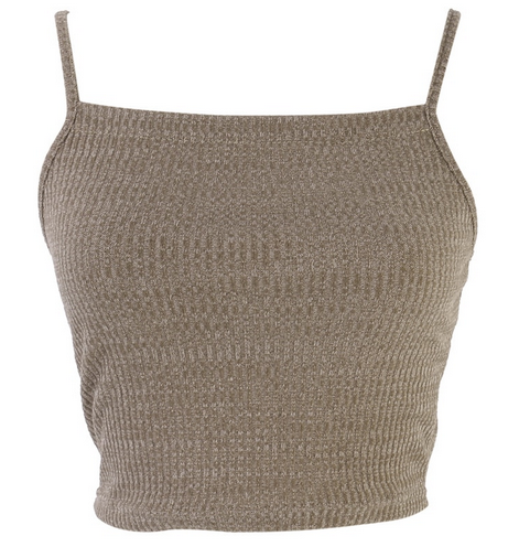 Mirav Knit Cropped Top - Feelin Peachy