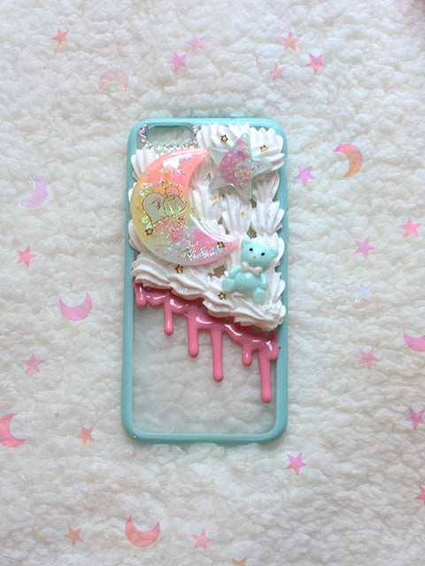Kawaii Pastel Half Decoden Sumikko Gurashi IPHONE 6 - Feelin Peachy