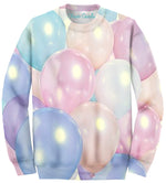 Allover Print Pastel Balloon Party - Feelin Peachy