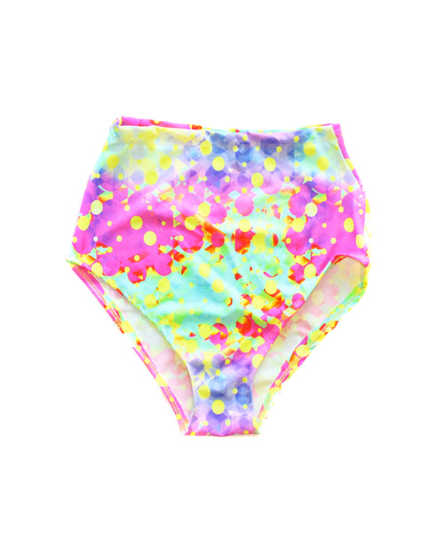 Colorpop UV Neon Brust High Waist Shorts