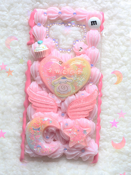 Kawaii Pastel Kriby Shaker Phone Grip/Phone Holder