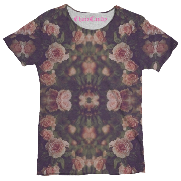 Floral Print T shirt - Feelin Peachy
