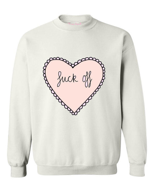 Oversized Hate heart Sweatshirt