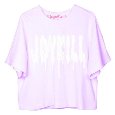Glitter Hearts Printed T Shirt