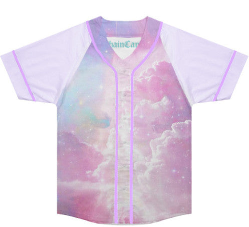 Pastel Galaxy Baseball Jersey - Feelin Peachy