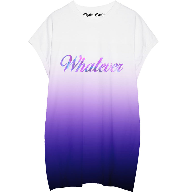 Whatever Ombre  Oversized T shirt