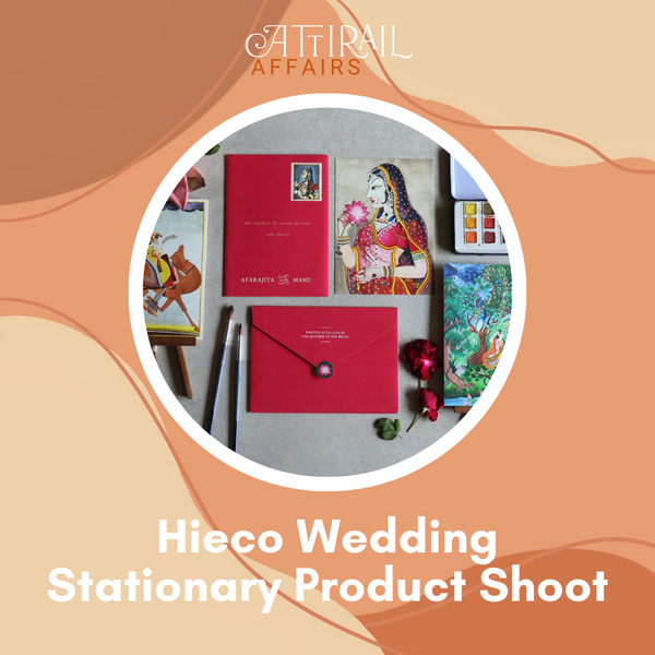 Hieco Wedding Stationary Product Shoot