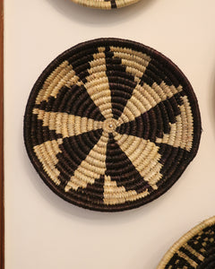 Attrail Bohemian Handwoven Cane Wall Baskets Monet 10 inches
