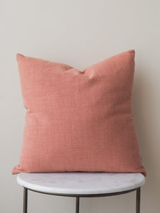 Burnt Rust Solid Cushion Cover