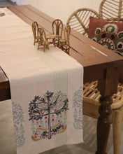 Load image into Gallery viewer, Attirail Bohemian Willow Tree Embroidered Table Runner