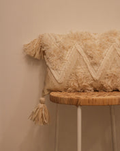 Load image into Gallery viewer, Attirail Bohemian Lumbar Cushion Fringe Benefits
