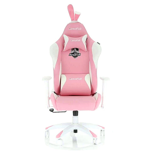 AutoFull Pink Bunny Gaming Chair