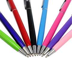 Twist-Type Ballpoint Pen With Stylus