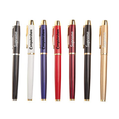 Multi-Colored Metal Signature Ink Pen