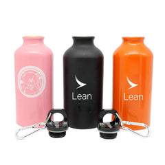 Stainless Steel Drinking Bottle With Narrow Handle And Clip