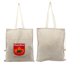 Cotton Tote Bag With Carrying Handles